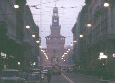 Milan: Via Dante some years ago